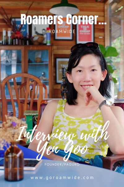 Pin this! Roamwide Interview with Yen Goo, sustainable fashion entrepreneur