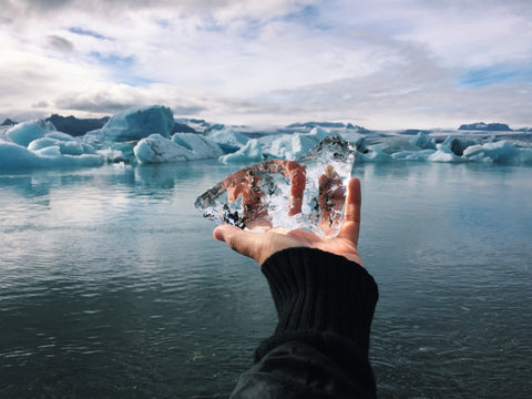 Ice in Iceland - Photo by Kim Anh