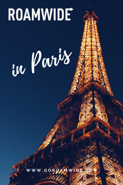 Pin this! Roamwide in Paris playlist