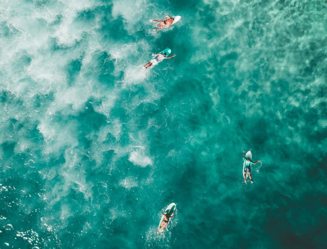 Surfers, Bondi Beach, Australia, Photo by Sam Wermut