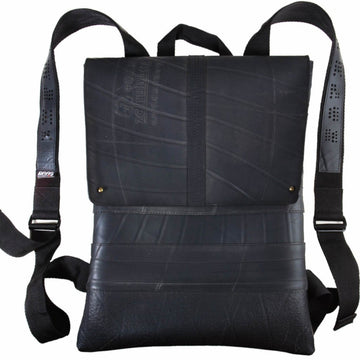 Ando Slimline Inner Tube Vegan Backpack - front