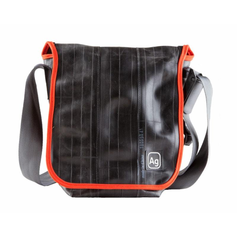 Alchemy Goods Haversack Shoulder Bag satchel with orange accents