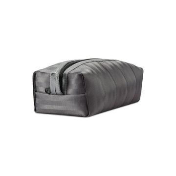 Kamperfuli Seat Belt Toiletry Bag - grey angle