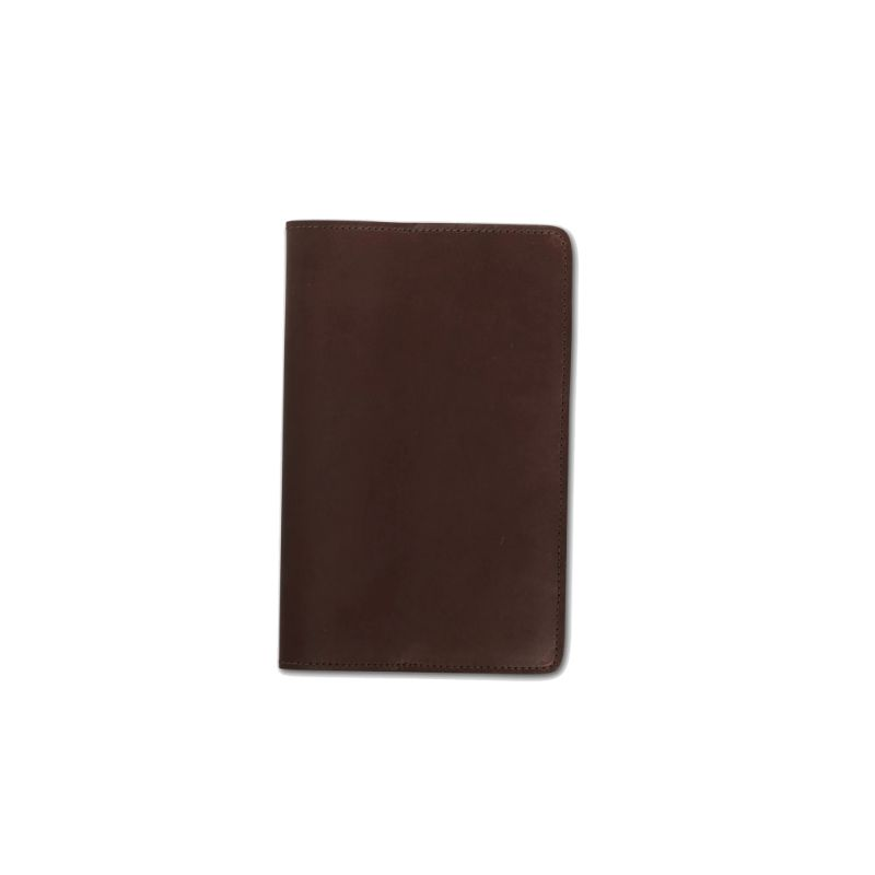 Front view of the dark brown Koda Journal Cover