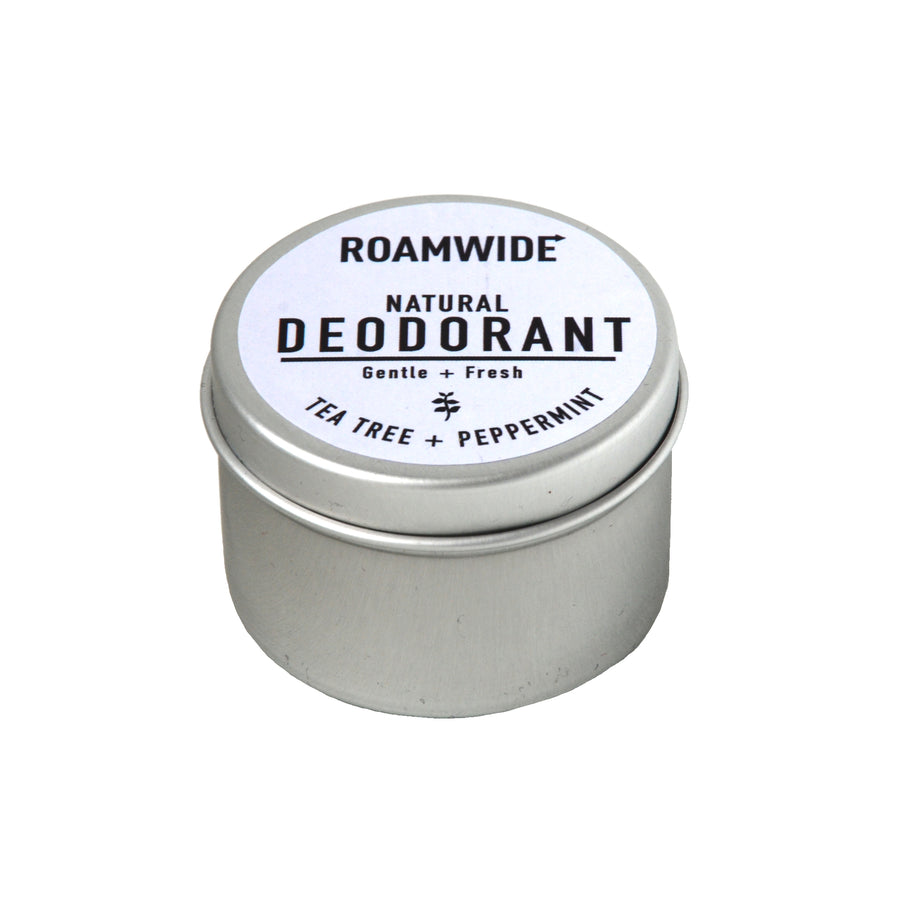 Roamwide natural deodorant cream