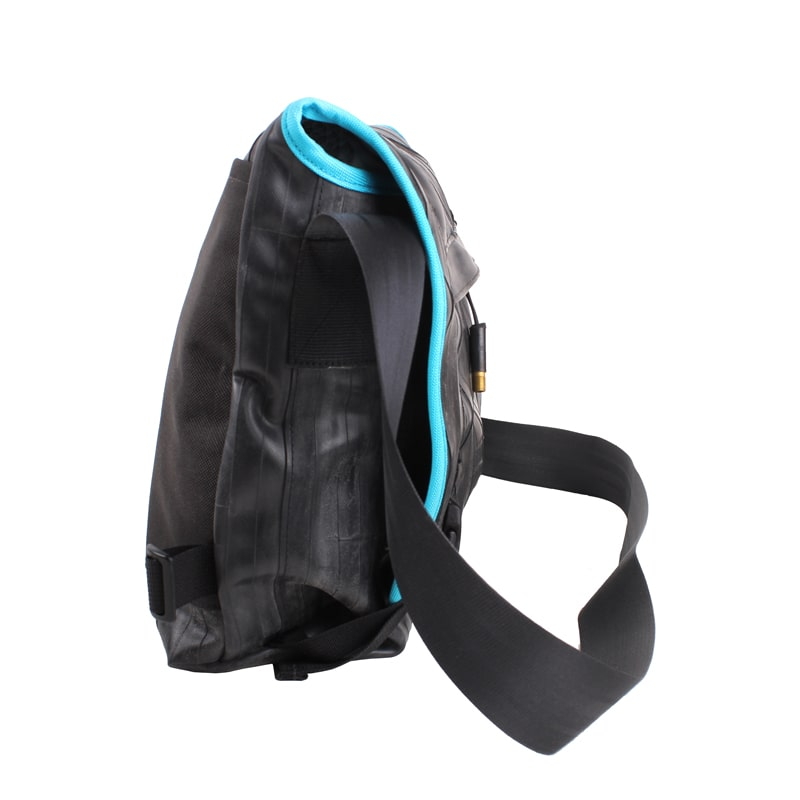 Alchemy Goods Pike Messenger Bag turquoise side view