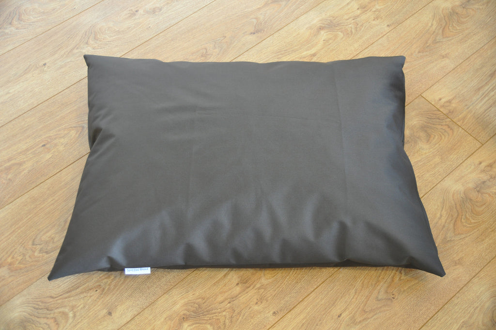 Waterproof luxury dog bed (chocolate)