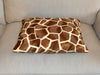 Giant Giraffe faux fur luxury cat bed