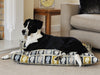 First Class luxury dog bed (charcoal)