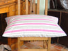 Deck Chair Stripes luxury dog bed (cerise)