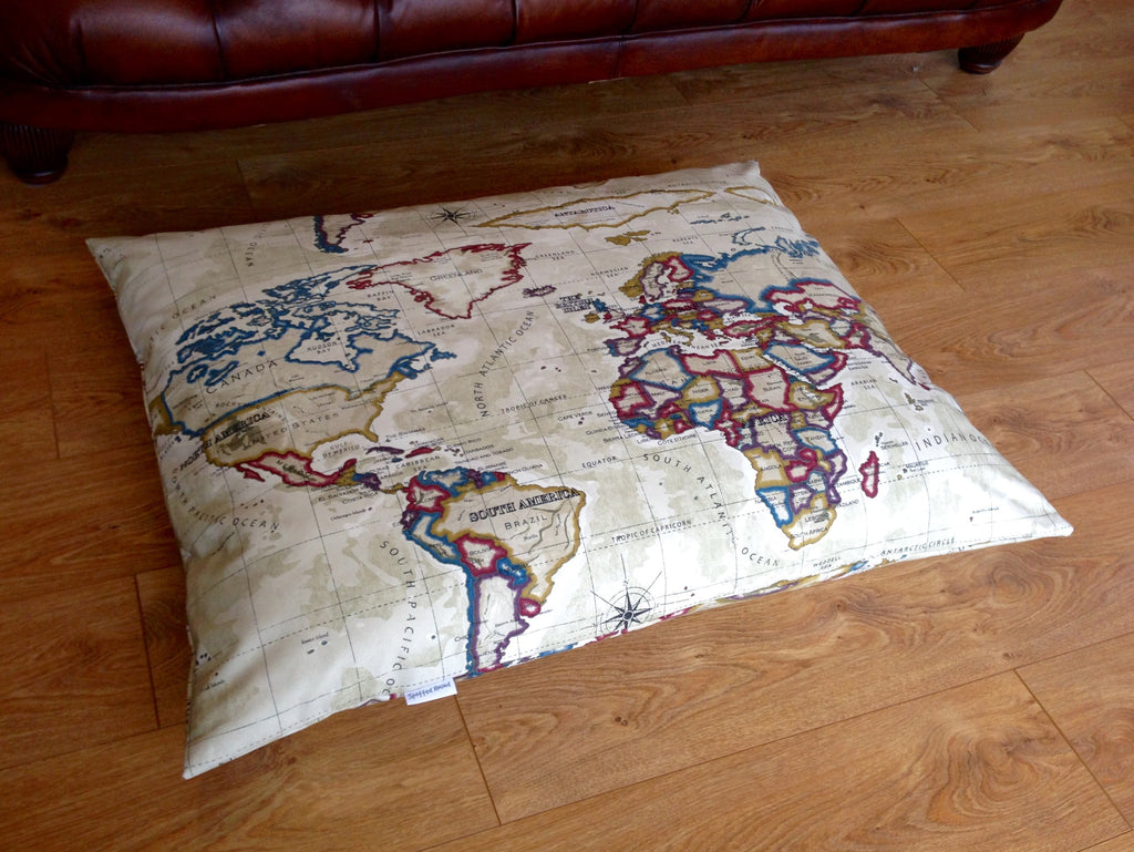 Vintage Atlas spare bed cover