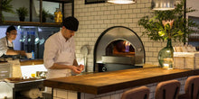 Load image into Gallery viewer, Alfa pro quick wood gas pizza oven with base