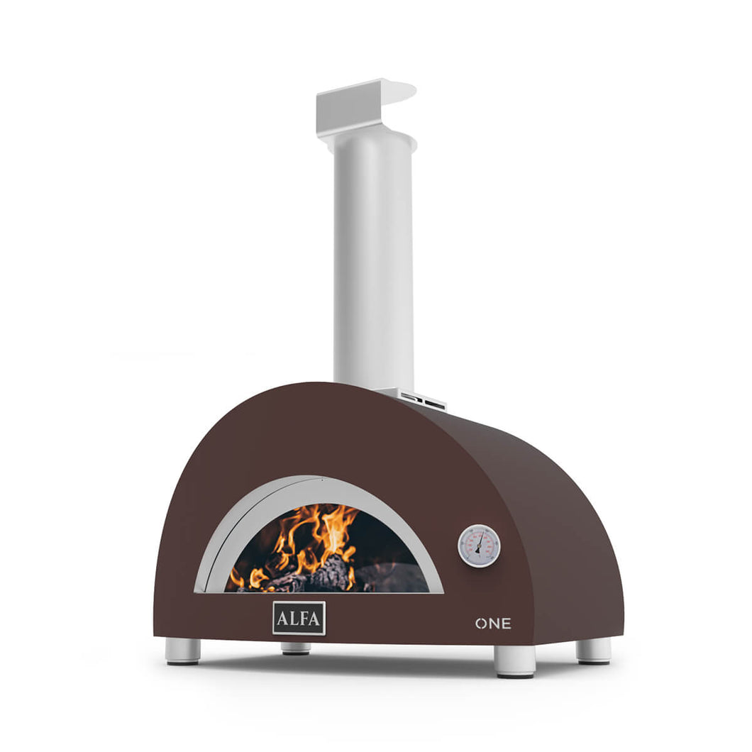 Alfa One compact wood fired pizza oven - 1 pizza capacity