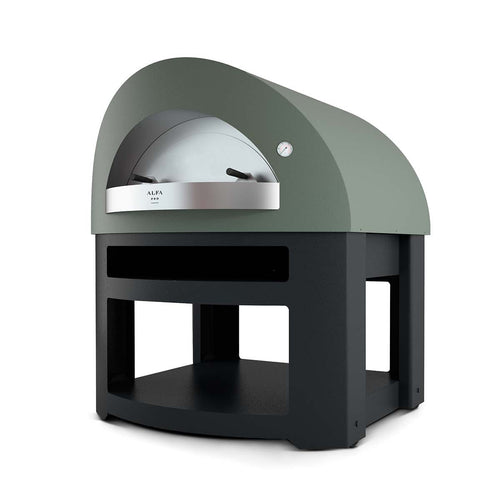 Alfa pro Opera wood gas fired oven with base