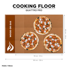 Load image into Gallery viewer, Quattro pro wood gas pizza oven