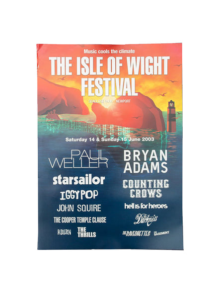 2003 Event Poster