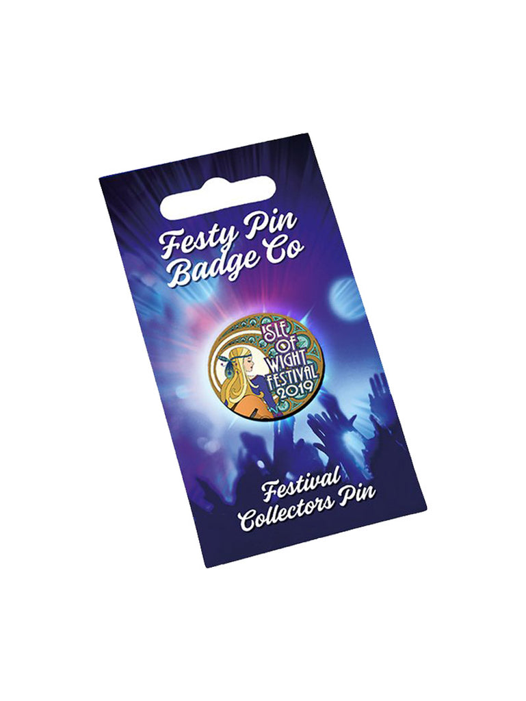 2019 Logo Festy Pin