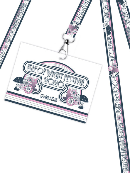 Front Room Festival Lanyard & Wristband Set