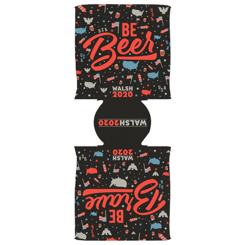 BE BEER, BE BRAVE Koozie