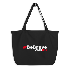 Large #BeBrave Tote Bag