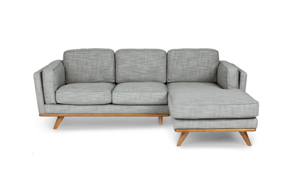 Hugo | 5 Seater Chaise Sofa - Banana Home