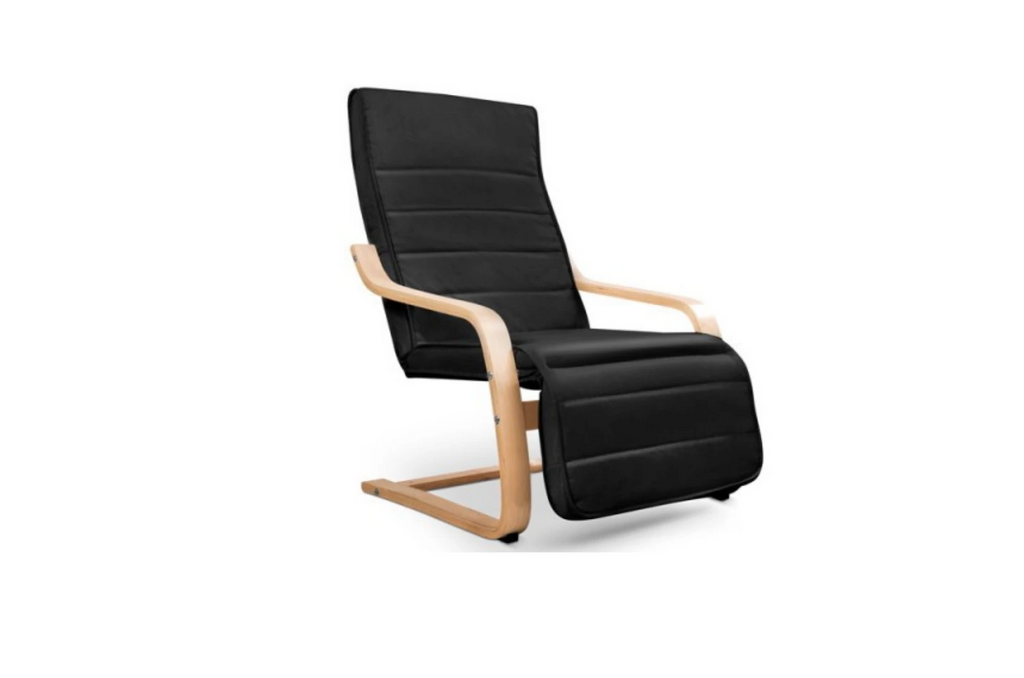 Hopi | 1 Seater C-Komfort Armchair | Black - Banana Home