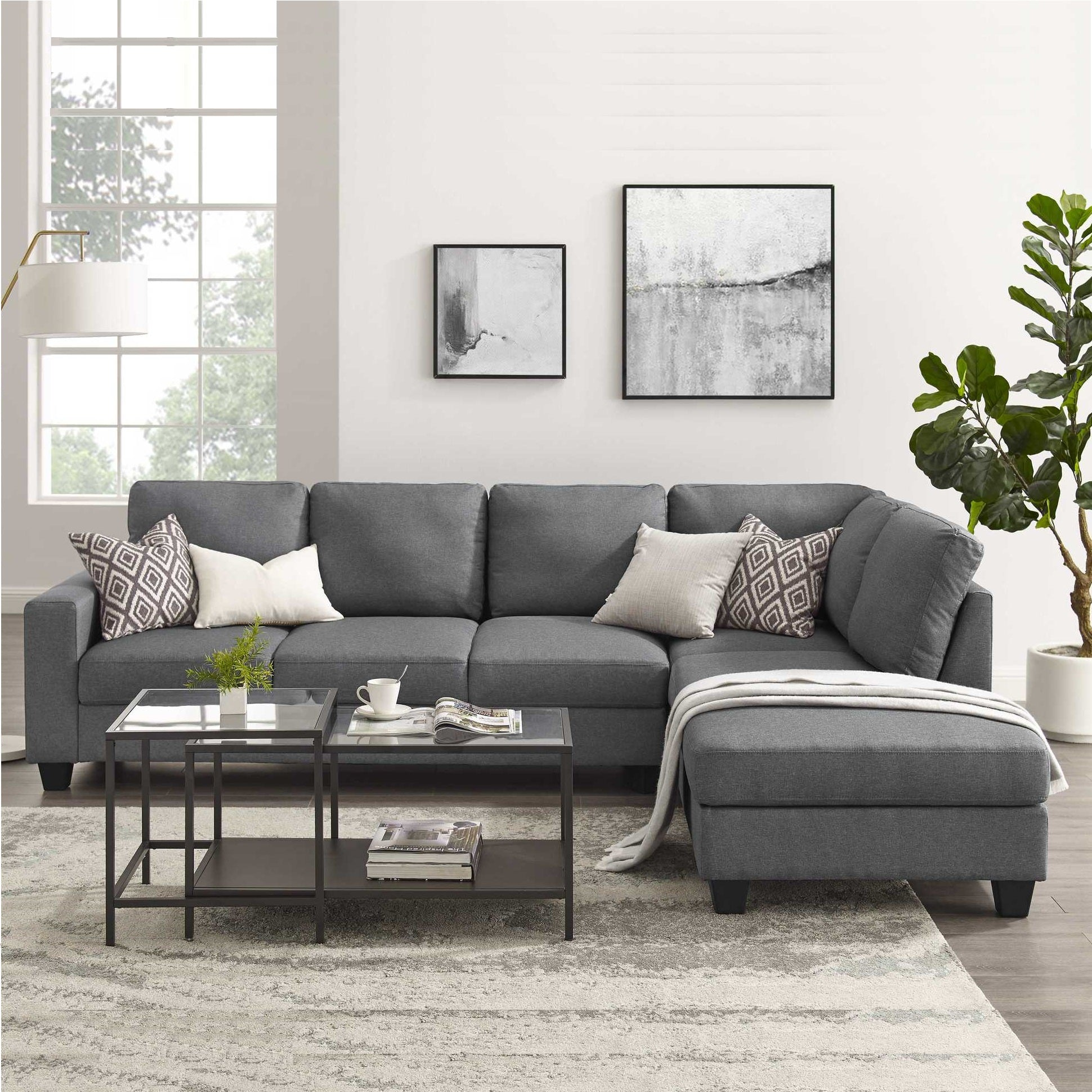 Preston 6 Seater Sofa With Chaise Banana Home Furniture