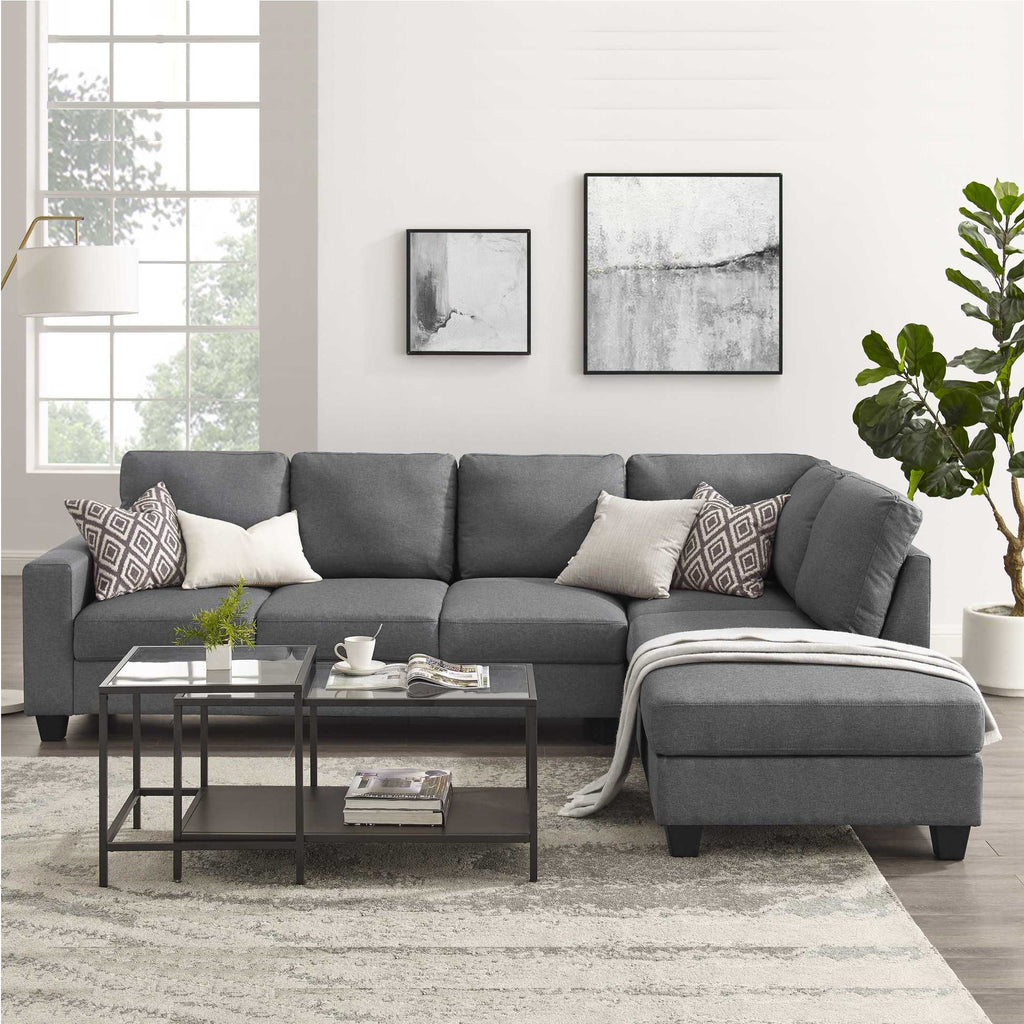 Preston - 6 Seater Sofa with Chaise
