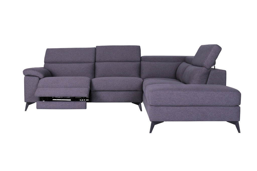 Moldova | 4 Seater Reclining Chaise - Banana Home