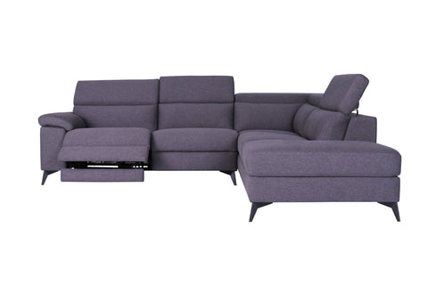 Moldova 4 Seater Reclining Chaise - Banana Home