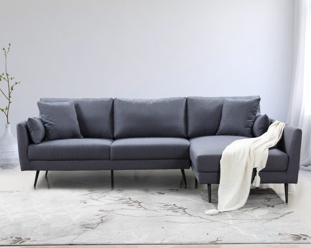 Henri III | 4 Seater with Chaise - Banana Home