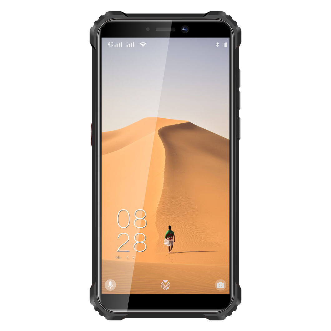 Oukitel WP 5,  Ruggedized mobiltelefon, IP68 Svart og Orange med 5,5