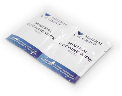 Cocaine Drug Detection Test Wipes: 50 wipes