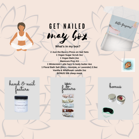 Get Nailed Monthly Subscription Box May