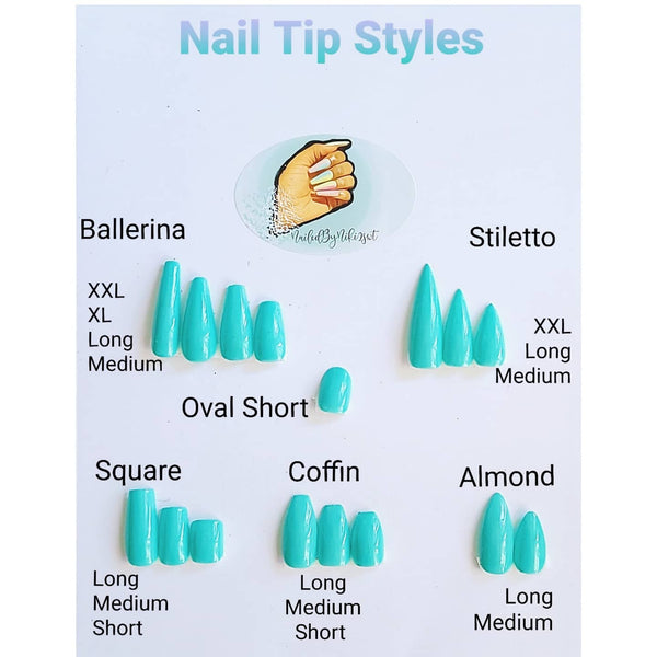 Available tip styles and options