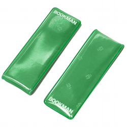 Bookman Clip-On Reflectors - Green