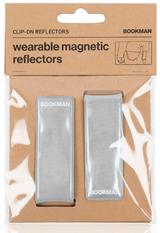 Bookman Clip-On Reflectors - White