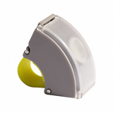 Bookman Curve Front Light - Light Grey/Acid Yellow