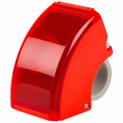 Bookman Curve Rear Light - Red