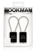 Bookman USB Front & Rear Light - Black