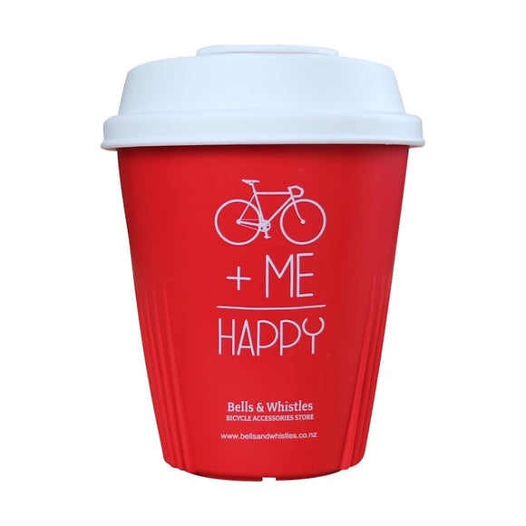 Reusable Bicycle Coffee Cup