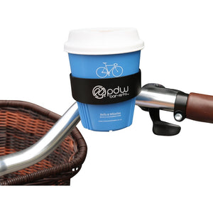 Bicycle Coffee Cup + Holder