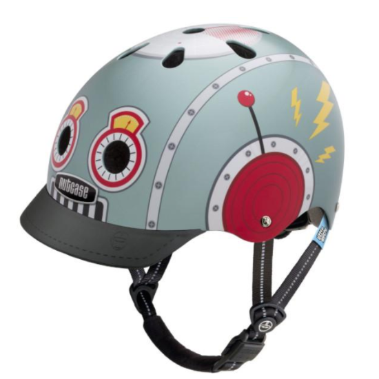 Little Nutty Tin Robot Helmet