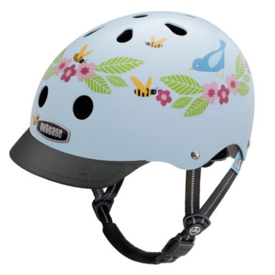 Little Nutty Bluebirds & Bees Helmet