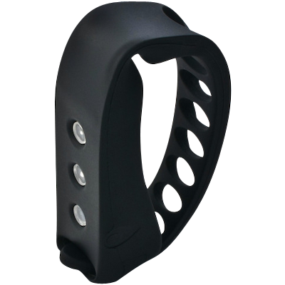 Two Wheel Cool Omni Wearable Rider's Light - Black