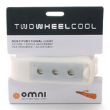 Two Wheel Cool Omni Wearable Rider's Light - Mist