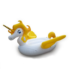 Golden Unicorn Pool Float