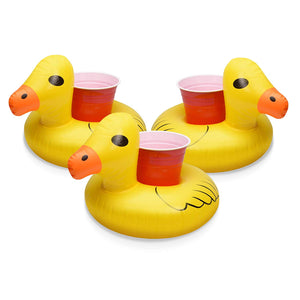 The Cute Chicken Floating Drink Holder (10 Pack)