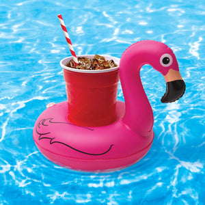 The Flamingo Floating Drink Holder (10 Pack)