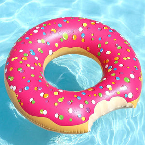 Donut Bite Pool Float Ring
